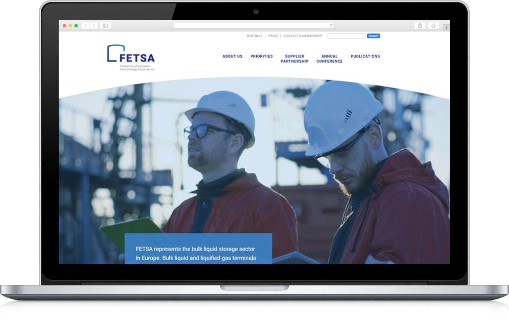 Разработка сайта FETSA